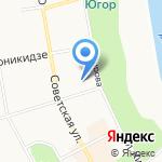 Коми республиканская организация профсоюза работников народного образования и науки РФ на карте Сыктывкара