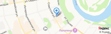Альма-Матер на карте Сыктывкара