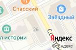 Схема проезда до компании Florange в Сыктывкаре