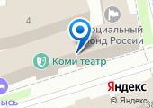 Коми республиканская организация Профессионального союза работников агропромышленного комплекса РФ на карте