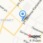 Ниокр на карте Сыктывкара
