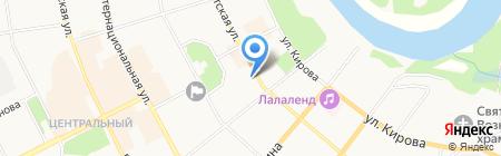 Управление капитального строительства на карте Сыктывкара
