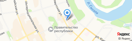 ИНТИМ на карте Сыктывкара