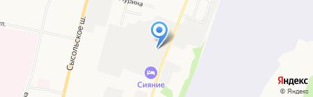 Торговая компания на карте Сыктывкара