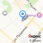 Анелик на карте Сыктывкара