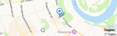 Магазин товаров для охотников на карте Сыктывкара