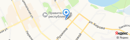 Банкомат Росгосстрах Банк на карте Сыктывкара