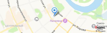 Союз потребительских обществ Республики Коми на карте Сыктывкара