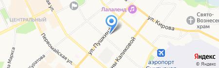 Ваш магазин на карте Сыктывкара