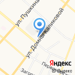 Менам керка на карте Сыктывкара