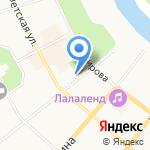 Федерация кикбоксинга Республики Коми на карте Сыктывкара