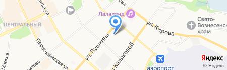 Прокуратура Республики Коми на карте Сыктывкара
