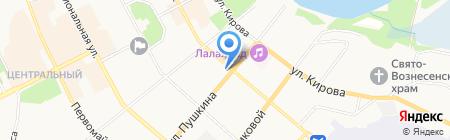 АльфаСтрахование на карте Сыктывкара