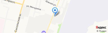 Гараж №911 на карте Сыктывкара