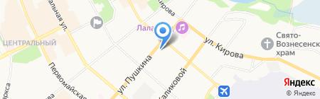 Мадам Софи на карте Сыктывкара
