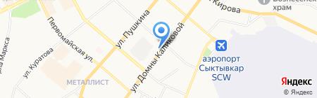 Всероссийское общество инвалидов на карте Сыктывкара