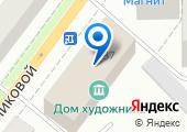Союз художников России на карте
