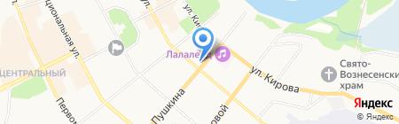 Женская гимназия на карте Сыктывкара