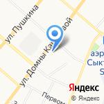 Союз художников России на карте Сыктывкара