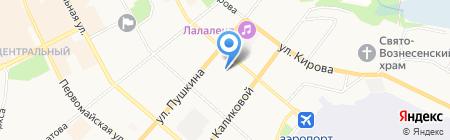 Сыктывкарская детская поликлиника №1 на карте Сыктывкара