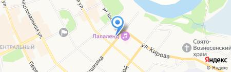 Пушкина 6 на карте Сыктывкара