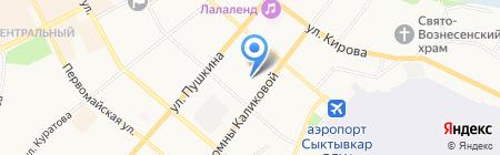 Детский сад №38 на карте Сыктывкара