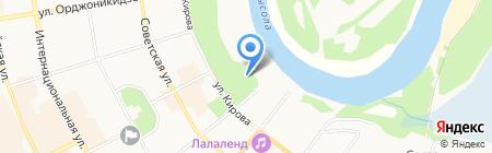 Дом развития культуры и искусства на карте Сыктывкара