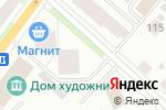 Схема проезда до компании БЭСТ в Сыктывкаре