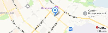 МАГНИТ на карте Сыктывкара