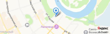 Эпос на карте Сыктывкара