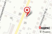 Схема проезда до компании Строительная компания в Бородинском