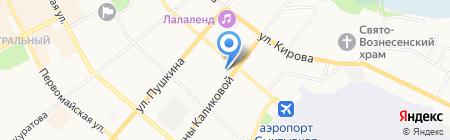 Квалификационная коллегия судей Республики Коми на карте Сыктывкара