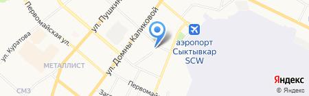 Мединвест на карте Сыктывкара