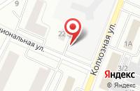 Схема проезда до компании Торгоптпроект в Сыктывкаре