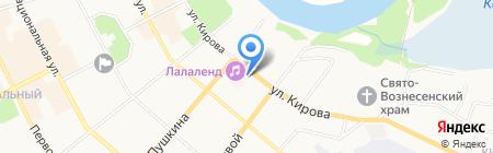 Скорая медицинская помощь на карте Сыктывкара