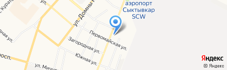 GEORGE на карте Сыктывкара