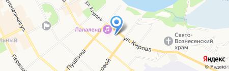 Детский сад №2 Яблонька на карте Сыктывкара