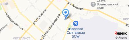 Мастерская по ремонту обуви на Советской на карте Сыктывкара