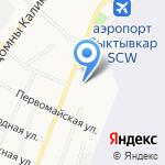 4 Колеса на карте Сыктывкара