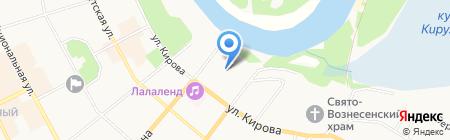 ИФНС на карте Сыктывкара