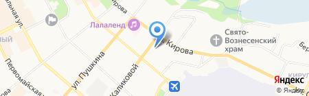 ГУФСИН России по Республике Коми на карте Сыктывкара