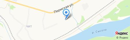 Строящиеся объекты на карте Сыктывкара