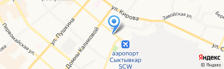 УФМС на карте Сыктывкара
