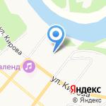 Инспекция Федеральной налоговой службы России по г. Сыктывкару на карте Сыктывкара