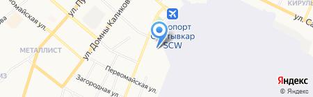 Техноторг на карте Сыктывкара