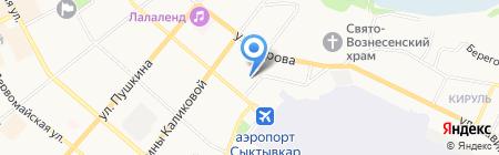 Всероссийское общество глухих на карте Сыктывкара