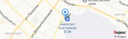 Центр государственной инспекции по маломерным судам МЧС России по Республике Коми на карте Сыктывкара