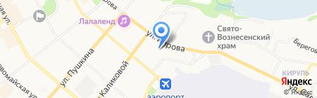 Центр лицензионно-разрешительной работы на карте Сыктывкара