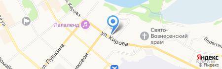 Лукойл-Гарант на карте Сыктывкара