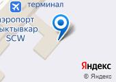 Линейный пункт полиции в аэропорту на карте